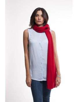 Scarf with ribs