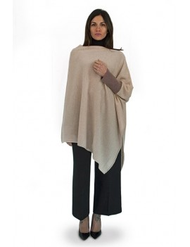 Poncho with one sleeve