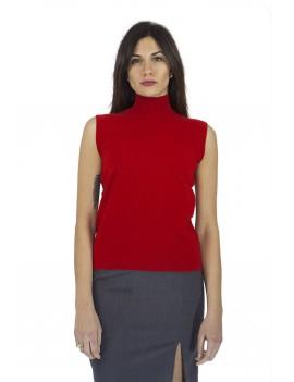 Twin –set sleeveless top
