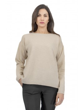 T-shaped sleeves sweater