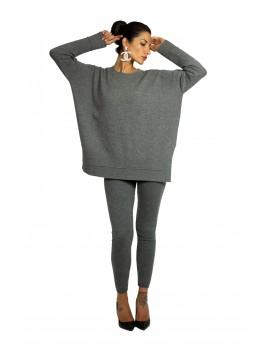 Maxi pullover in cashmere...
