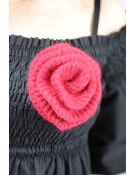 Rose shaped Brooch
