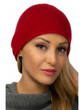 Gorra de cachemira lisa
