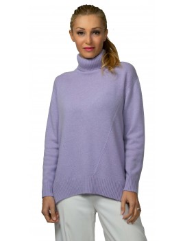 Cashmere sweater with...